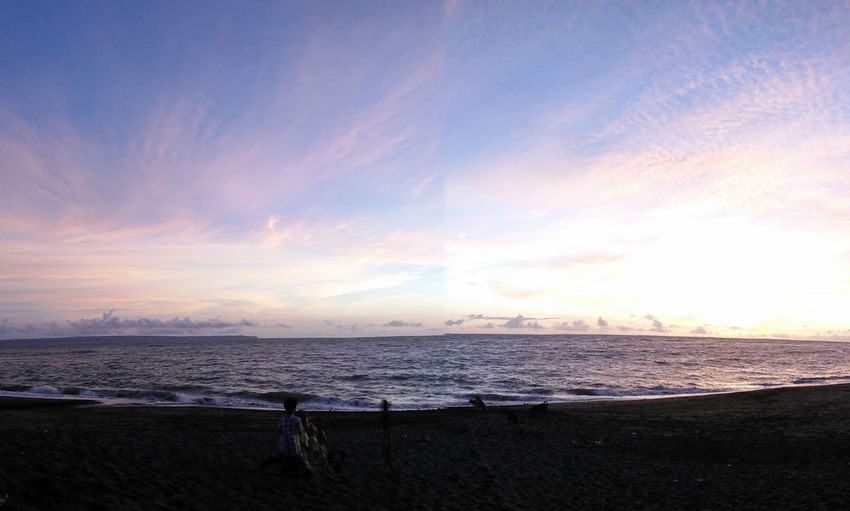 Panorama In Seseh Beach.Life Is A Beach