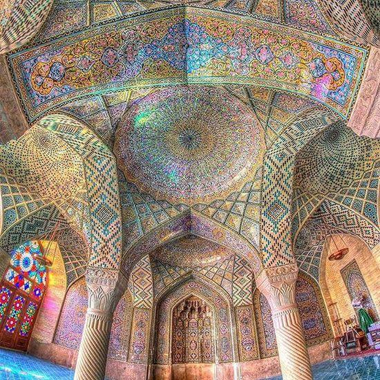 Masjid Nasr ul Mulk, Shiraz Travel Iran Shīrāz Persianart Mosque Ghalibhasnainphotography Tour2015 DawnWeeklyProject