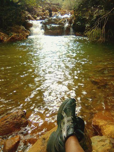 Après une randonnée Beauty In Nature Nature Water Reflection