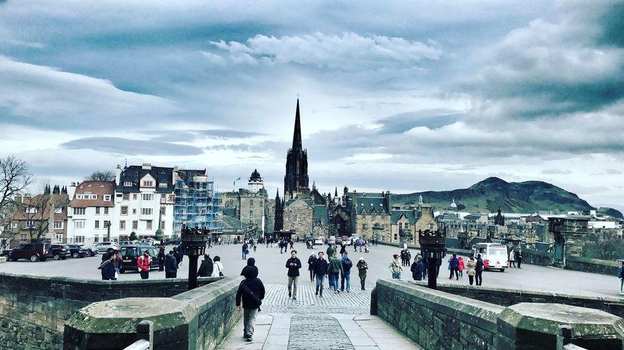 Taken from Edinburgh Castle. April 2017. Edinburgh Edinburgh Castle Landscape Scenic Stunning