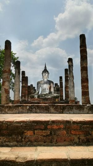 Ruins Travel Travel Destinations Architecture Place Of Worship Outdoors No People Day Thailand Sukothai