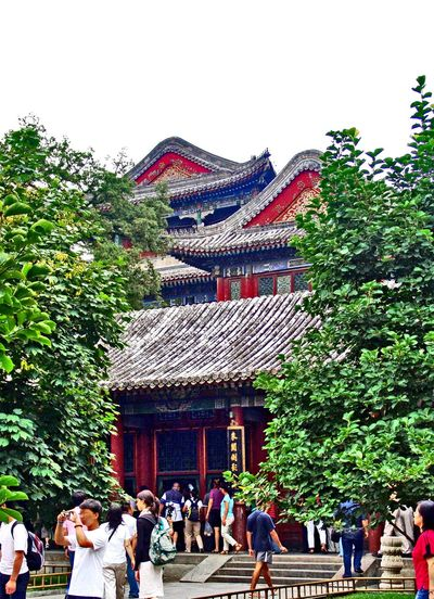 Architecture Beijing BEIJING北京CHINA中国BEAUTY Building Exterior Built Structure China China Photos Day Outdoors Sky Sommerpalast Summer Palace Beijing Travel Travel Destinations Travel Photography Traveling Travelphotography Tree