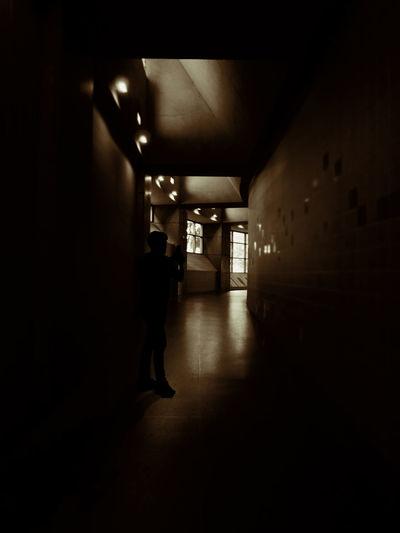 Dark Tunnel Dark And Light Darkness Dark Photography Illuminated Light At The End Of The Tunnel Man In Black Man In The Dark Men Silhouette Tunnel