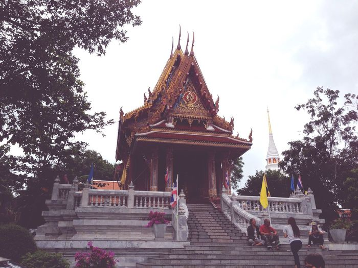 Tample Ventage Enjoying Life Thailand Monk  Industrial Travelling Bueatiful Landmark