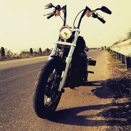 Street Bob Harley Davidson Matte Black Mybike Sexybike