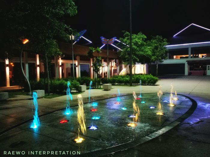 Silveritage Water Tree Illuminated Luxury Architecture Fountain