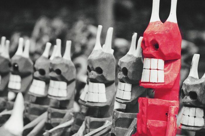 I Am The Devil ... Black&Red Handmade