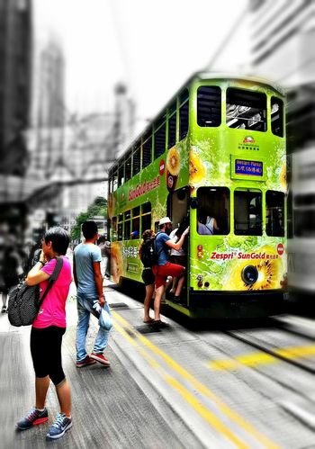 My fave cars in Hongkong ! ;) Taking Photos My Commute Eeyemgallery Eeyem Travel Urban Lifestyle Mobile Photography HongKong EeYem Best Shots Eeyem2016snapped People Feel The Journey