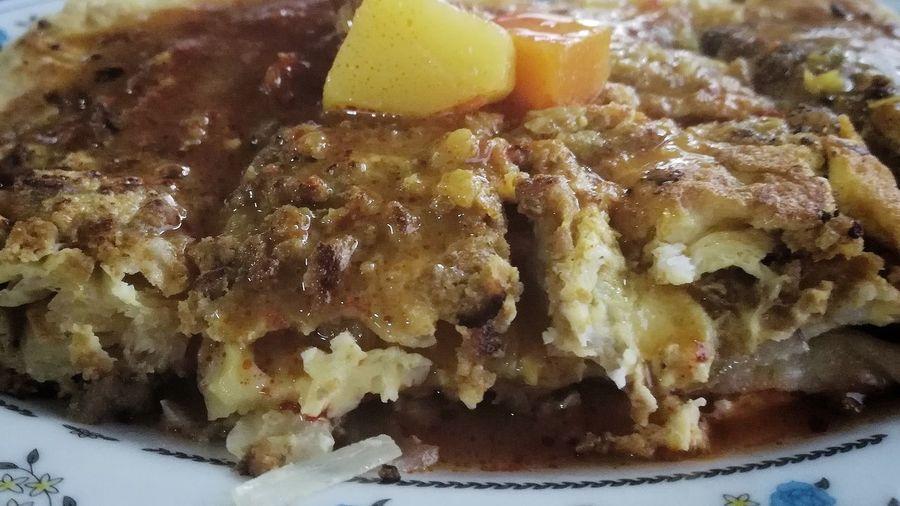 murtabak Egg Yolk Close-up Food And Drink