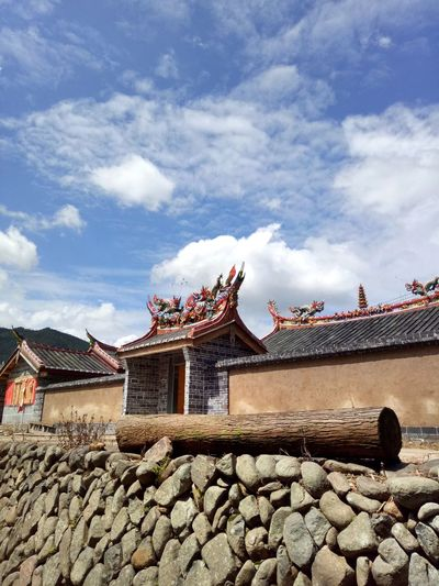 Traditional building against sky