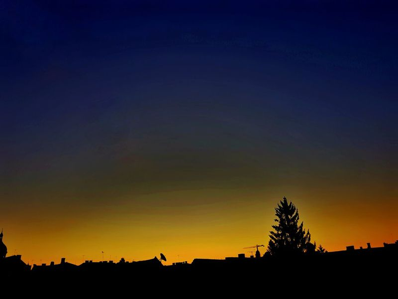 citymornings Nature Amazing Nature Cityscape Beauty In Nature Startofmyday Sky Shilouette Savethemoment Morning Sun Day And Night In The Same Time