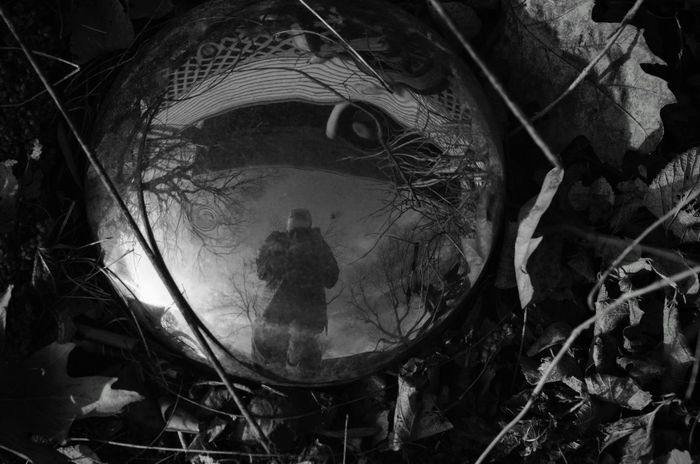 Visual Journal February 2017 Western, Nebraska A Day In The Life B&w Photography B&W Portrait Chrome Convex Mirror Everyday Lives EyeEm Best Shots EyeEm Bnw EyeEm Gallery Fine Art Photography Getty Images Hubcap Hubcap_selfie Leaves Outdoors People Of EyeEm Photo Diary Photographer Reflection Rural America Self Portrait Selfportrait Storytelling Visual Journal