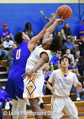 Wren Hurricanes vs the Pickens Blue Flame High School Basketball Basketball Wren Hurricanes