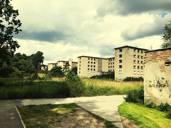 Prora at day Tree Built Structure Building Exterior Sky Cloud - Sky Growth Day Outdoors