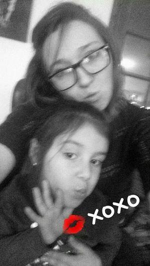 Kisses Family❤ Blackandwhite My Beautiful Niece  Selfie Pose Love Happy People