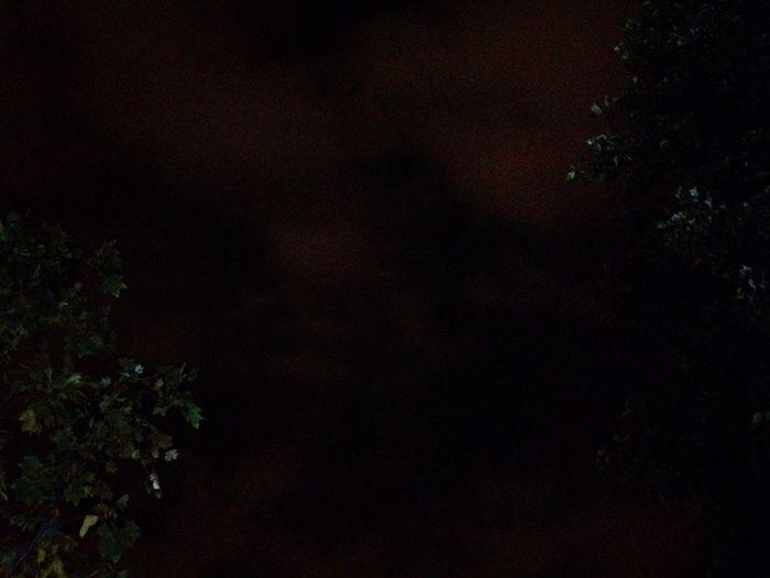 Night Night Lights Sky