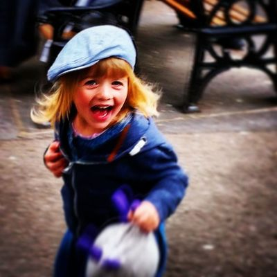My parents call her 'The Imp'! Very fitting for this mischievous giggle maker. Little_munchkin_patch_Childcare