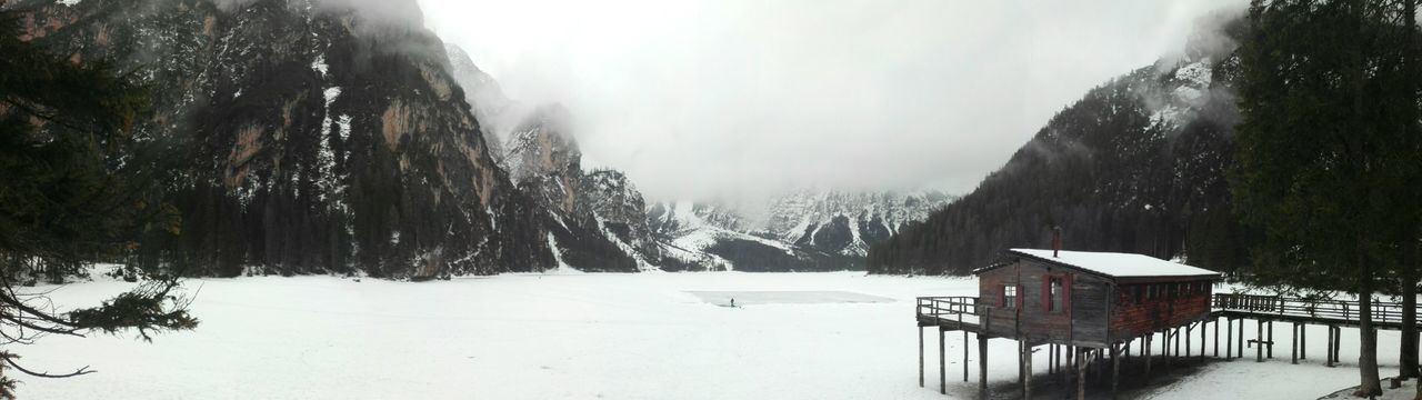 Miles Away Snow Winter Cold Temperature Nature No People Outdoors Ice Snowing Beauty In Nature Dolomites, Italy