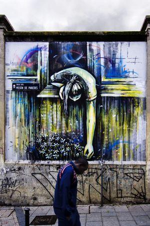 Madriz #madrid #EyeEmNewHere #photography #streetphotography Street Art Text Graffiti Close-up Architecture Spray Paint Aerosol Can Mural ArtWork