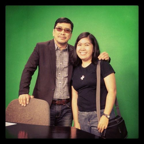With Sir Tulfo BitagMan :-D
