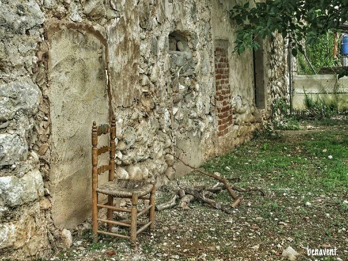 La Safor País De L'olivera Cadira Cadira De Fusta Silla Abandonated House Abandoned Casa Abandonada