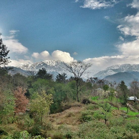 Palampur Mountains Dgcncovas Clouds