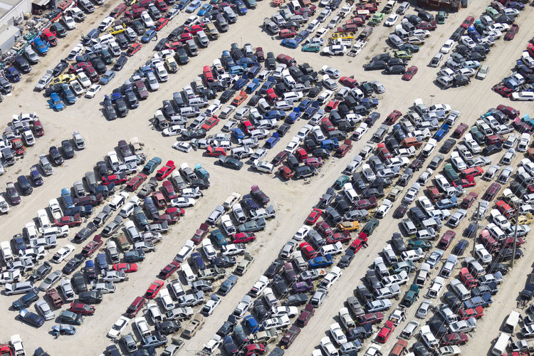 Aerial View Car City City Life Cityscape Crowd Crowded Day Fan - Enthusiast High Angle View Land Vehicle Large Group Of Objects Large Group Of People Outdoors Parking Lot People Sport Stadium Street Transportation