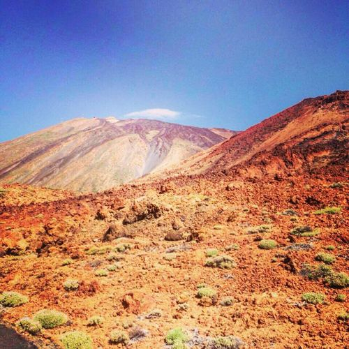 Mars El Teide National Parc Star Wars