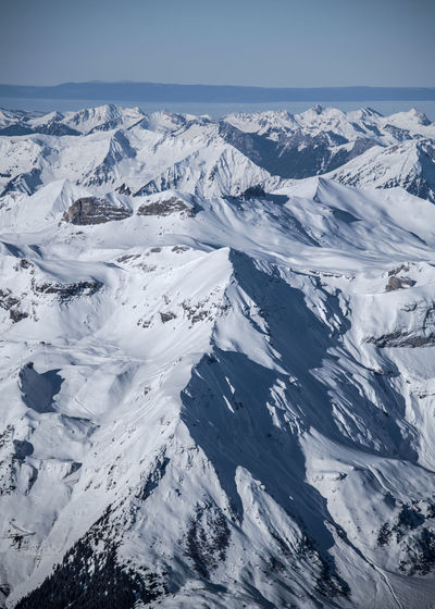 Snowcapped Mountain Cold Temperature Snow Winter Mountain Range Mountain Landscape Alps Swiss Alps Physical Geography Extreme Terrain Mountain Peak Outdoors