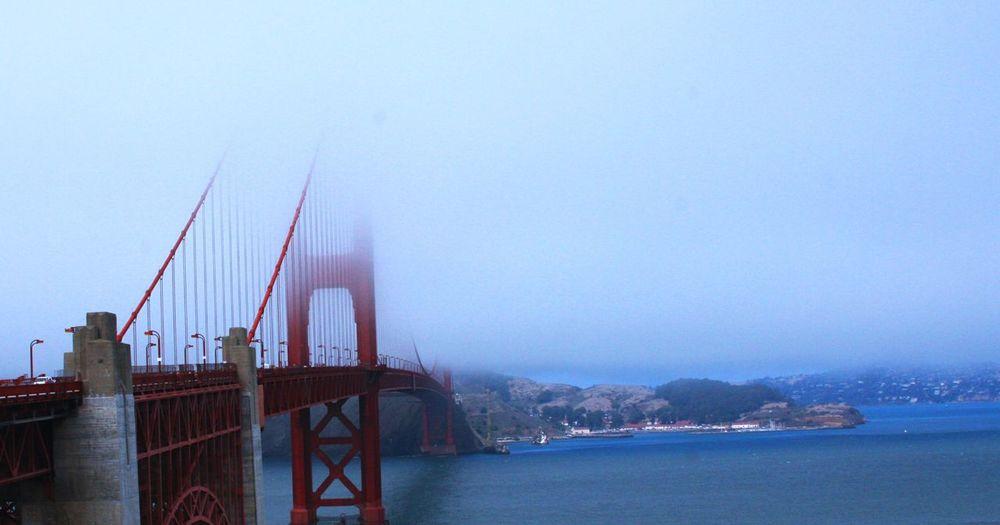 Golden Gate Bridge, San Francisco, California San Francisco Bridge - Man Made Structure Travel Destinations Horizon Over Water Fog Over Water Architecture