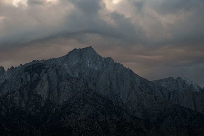 Before the storm. Beauty In Nature Cloud - Sky Day Landscape Mountain Mountain Range Nature No People Outdoors Physical Geography Scenics Sky Snow Tranquil Scene Tranquility Winter California Dreamin