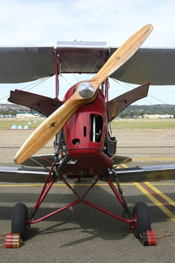 Historic Aircraft - Tiger Moth nose view Airshow Tiger Moth Travel Travel Photography Aerospace Industry Air Vehicle Aircraft Airplane Airport Airport Runway Biplane Day Mode Of Transport No People Old Aircraft Outdoors Propeller Airplane Runway Sky Transportation Vintage Vintage Aircraft