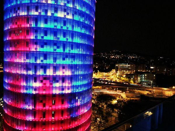 Diagonal Barcelona Night Lover Ma Darling