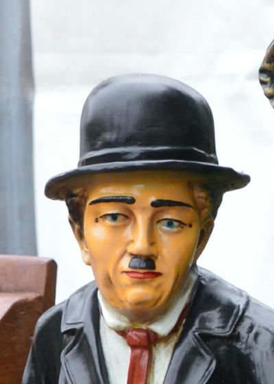 Looking At Camera Portrait One Person Only Men Charlychaplin