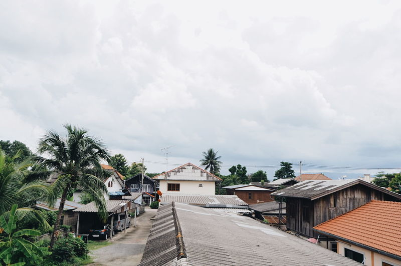 EyeEm Selects Sky Thailand Houses City Minimallandscape Minimalmood Around Town Enjoying Life Mountain Reflection Hometown Minimalism White Color
