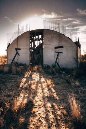 Abandoned Places Architecture Architecture_collection Collapse Ruins Texas Texas Landscape Abandoned Abandoned Buildings Architecture Architecturelovers Building Exterior Built Structure Concrete Day Factory Field Grass Industry Nature No People Old Buildings Outdoors Sky Sunlight