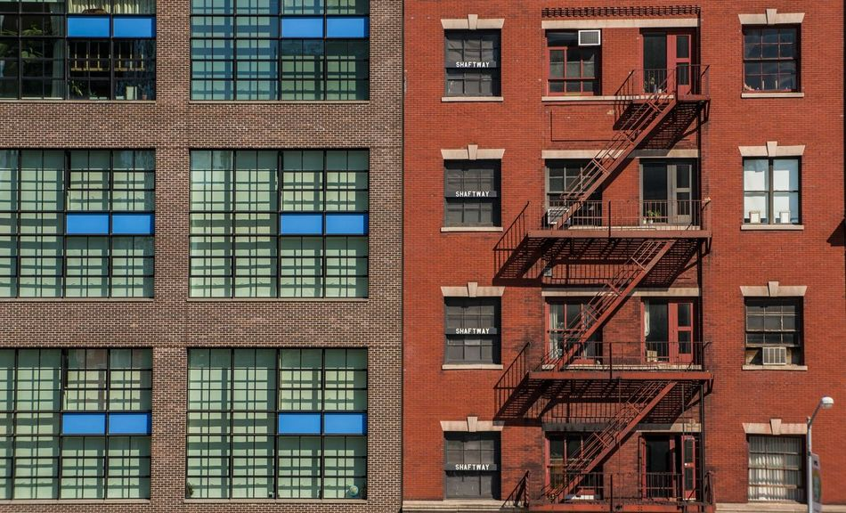 NYC New York The High Line Architecture Stairs Streetphotography