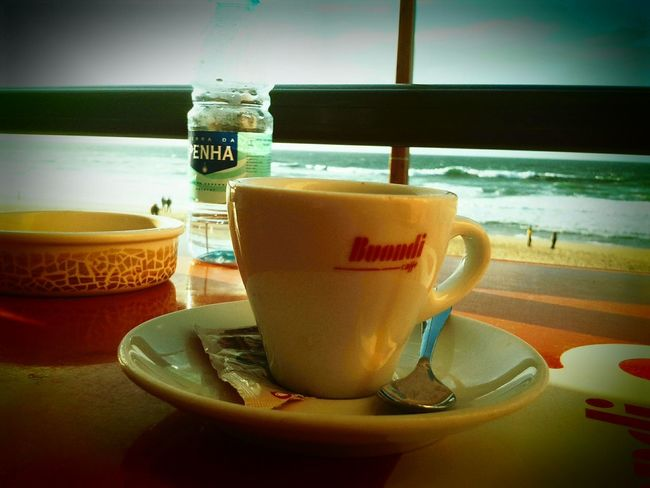 After lunch 😉 Coffee On The Beach