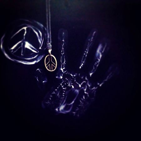 Playing With Colours Peace My Locket Love
