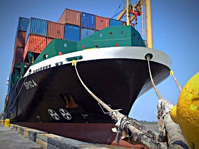 Transportation Container Ship Containers Magdalena River MMartenco Amo A Colombia