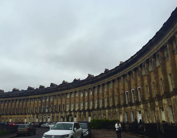 Homes built like the shape of The Roman Coliseum in Bath, UK. Very posh and a few well-known celebrities had homes here... Check This Out Bath, United Kingdom Travel Photography Eye4photography  Posh Being A Tourist