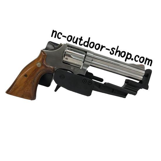 Schießen Schießsport Waffe Jäger Jagd Holster Gun Handgun White Background Crime Studio Shot Weapon No People