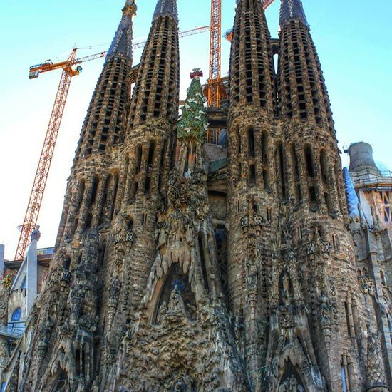 Started in 1882 by Antoni Gaudi, la Sagrda Familia is anticipated to be finished in 2026 - the centenary of Gaudi's Death. 144 years. History Barcelona Catalan Unesco HeritageSite GothicArchitecture