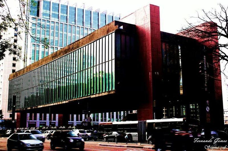 Masp Arquitecture Arquitetura Avenida Paulista First Eyeem Photo