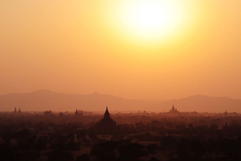 Sunset Holy Temples Magic Eternal amazing Bagan Myanmar 43 Golden Moments Fine Art Photography