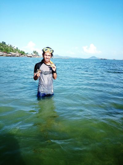 On kabung island That's Me Enjoying Life Hello World