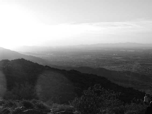 Black and white of sun in the mountain Nature Landscape Fog Mountain Scenics Sky Mountain Range Idyllic Beauty In Nature Tree Outdoors Tranquil Scene No People Day