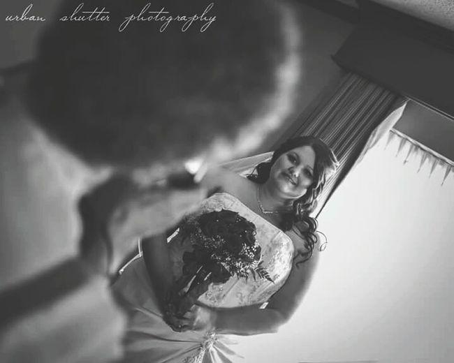 Wedding Wedding Dress Wedding Photography Candid Omaha, Nebraska Omaha Wedding Photographer Urban Shutter Photography Portrait Photography