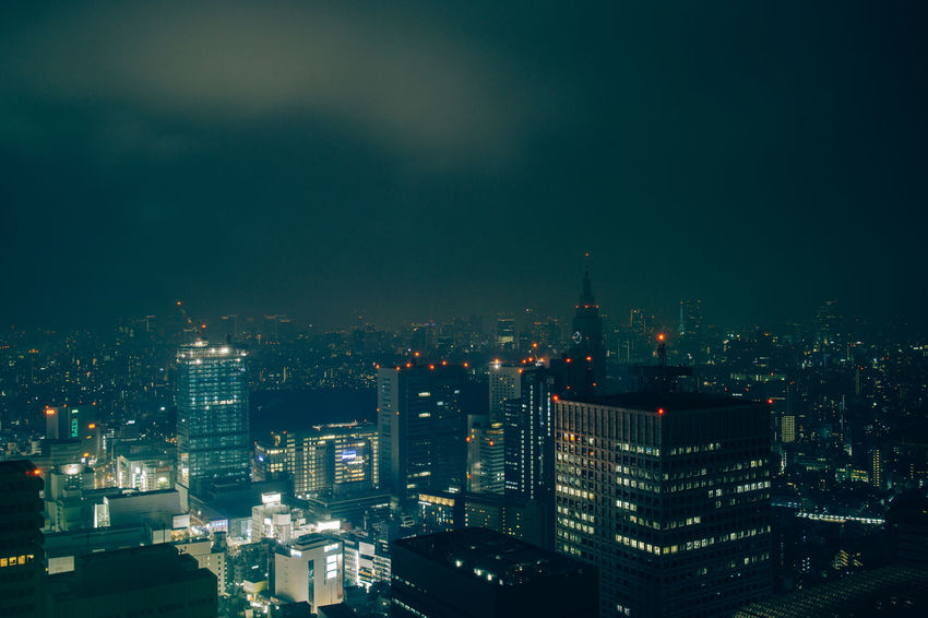 Tokyo Skyline, Shinjuku, Tokyo Japan Japanese  Night Photography Shinjuku Tokyo Tokyo Night Tokyo,Japan Travel Photography Architecture Building Exterior Built Structure City Cityscape Illuminated Modern Night No People Outdoors Skyscraper Tall Tokyo Cityscapes Travel Destinations