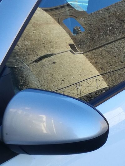 Carreflection collection Altered Reality Reflections Altered Reality Sky Blue No People Day Close-up Outdoors Transportation Car Reflection Reflections Car Huawei Shots Daylight Photography The Week On Eyem The Purist (no Edit, No Filter) Italy🇮🇹 No Edit No Filter Photography Abstractphotography Architecture Carreflection Collection